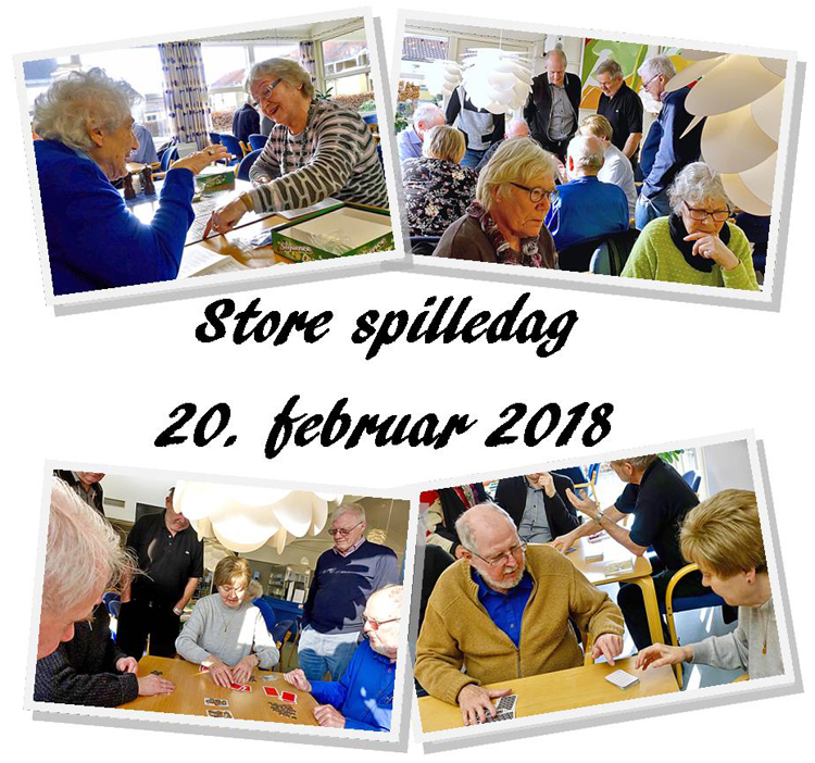 Store spilledag collage